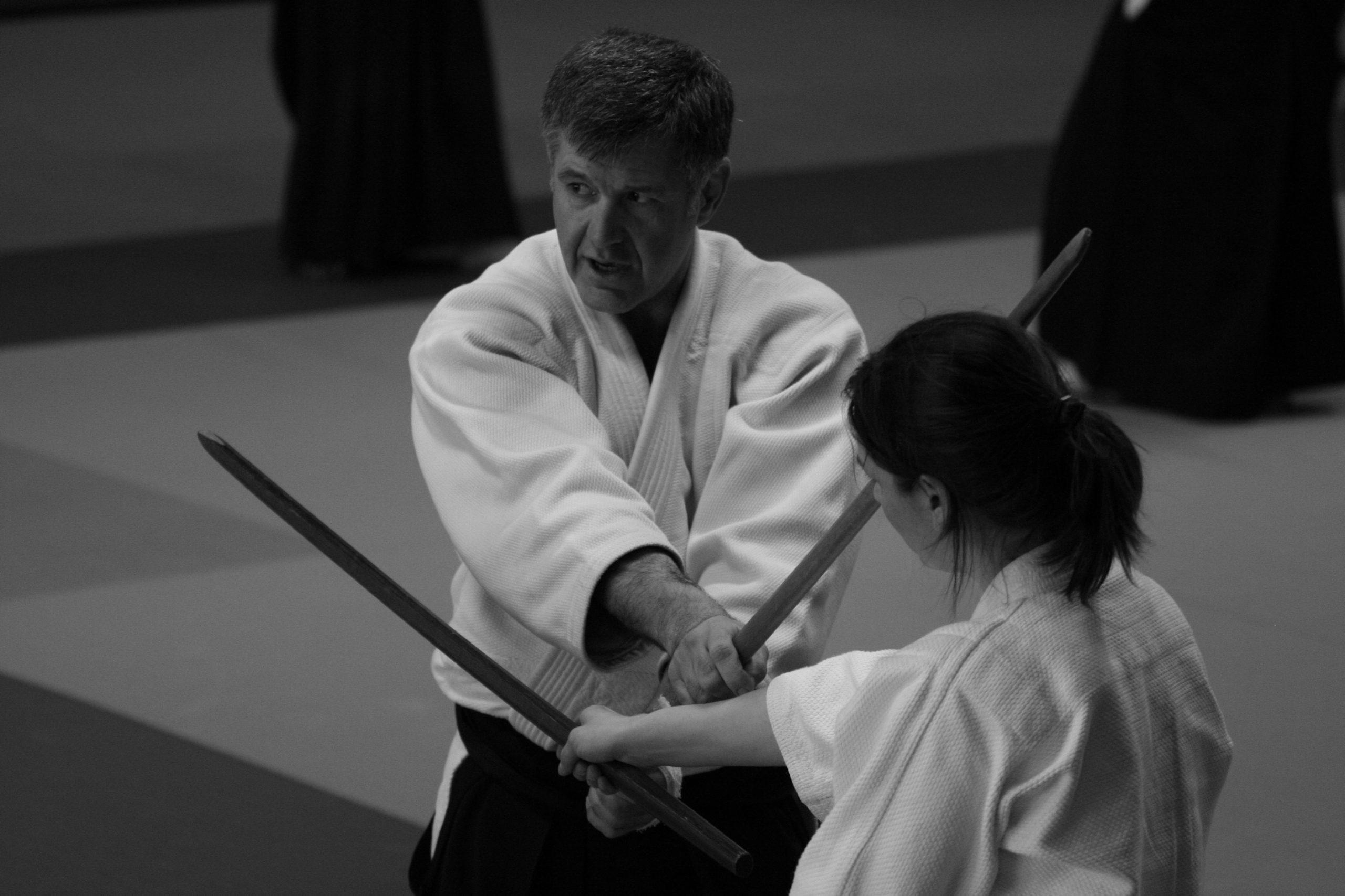 Aïkido, Techniques d'armes