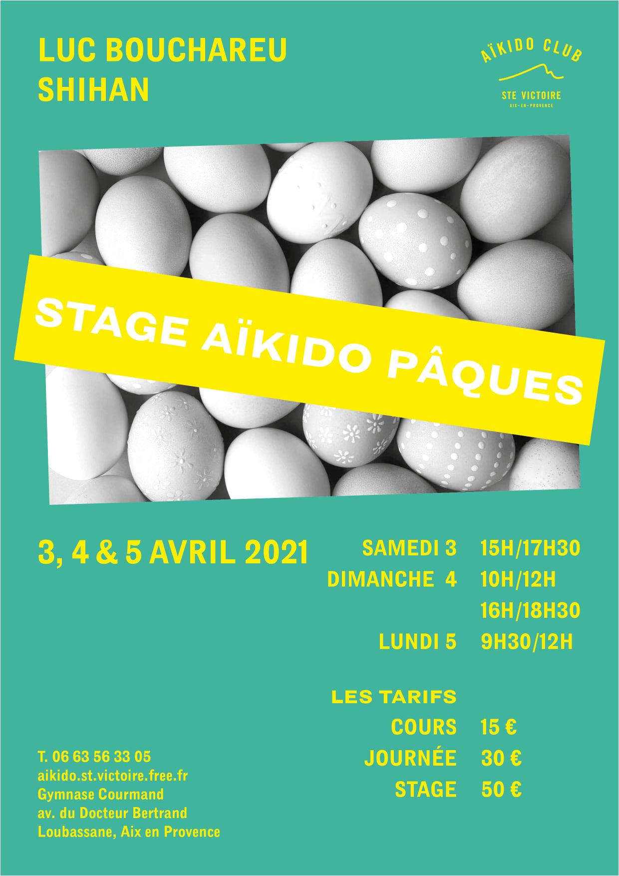 Stage de pâques 2021 Aix