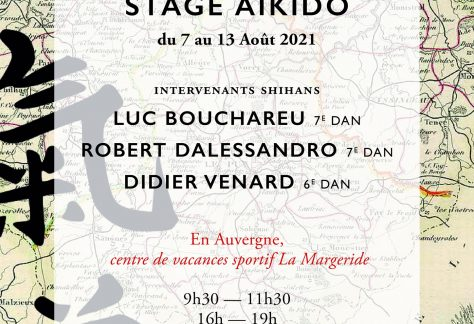 stage aikido auvergne aout 2021